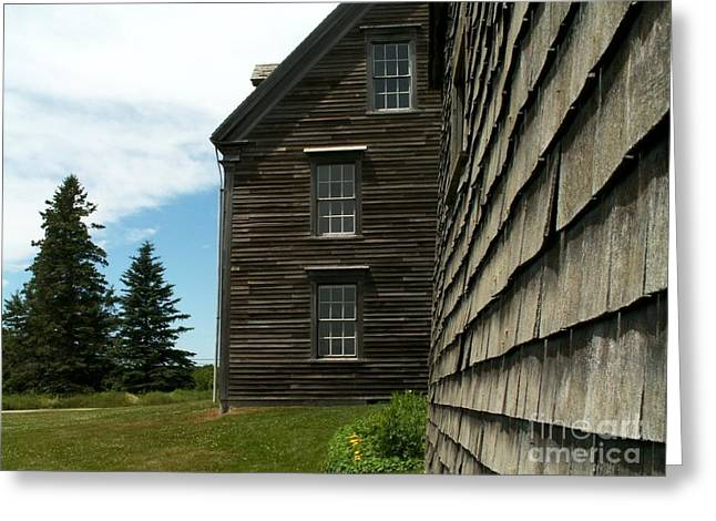 Olson House Greeting Cards - Olson House Study Greeting Card by Theresa Willingham