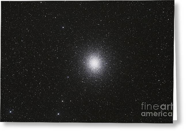 Omega Centauri Globular Star Cluster Greeting Card by Philip Hart