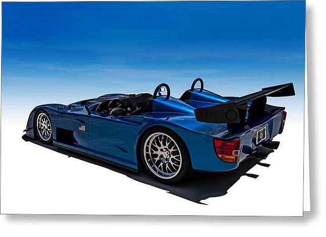 Custom Roadster Greeting Cards - Omega Prototype Greeting Card by Douglas Pittman