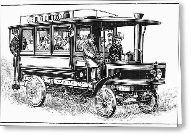 Omnibus Greeting Cards - Omnibus, 1898 Greeting Card by Granger