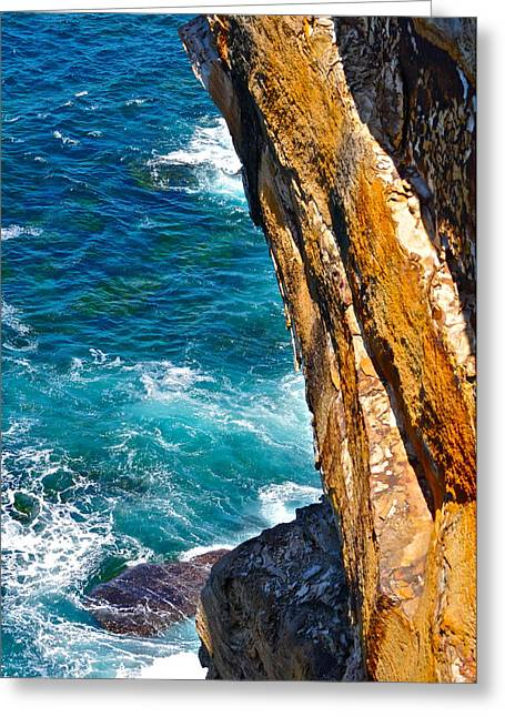 On The Edge Greeting Cards - On the Edge Greeting Card by Dorota Nowak