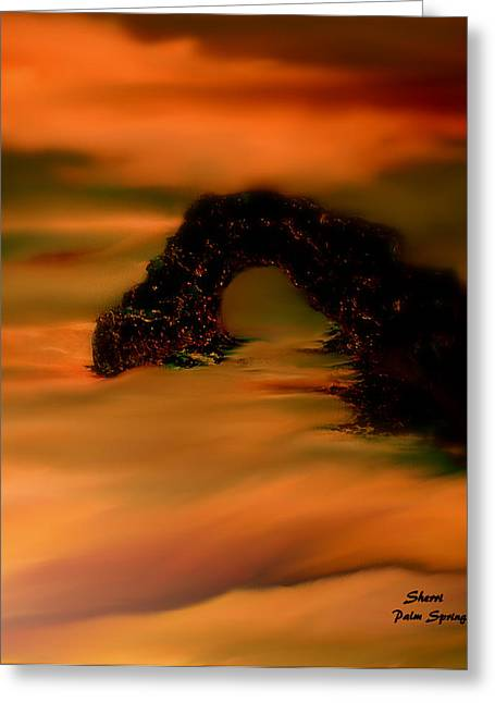 Sunset Greeting Cards Greeting Cards - On The Gulf On Mexico Greeting Card by Sherri  Of Palm Springs