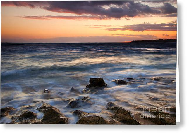 Tide Up Greeting Cards - On the Horizon Greeting Card by Mike  Dawson
