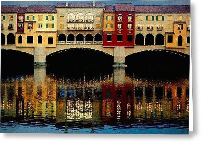 Tammy Espino Greeting Cards - On the Lake Greeting Card by Tammy Espino