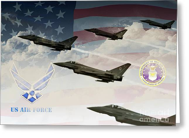 Gallantry Greeting Cards - On The Rise Greeting Card by Ken Frischkorn