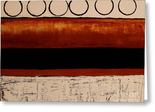 Raw Sienna Greeting Cards - On The Road Again Greeting Card by Marsha Heiken
