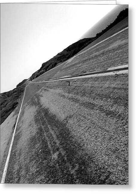 On The Road Greeting Card by Steve Parr