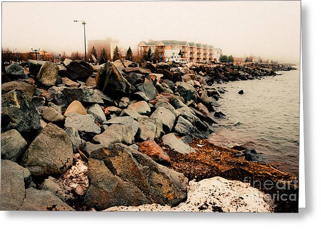 Canal Park Greeting Cards - On The Rocks Greeting Card by Shutter Happens Photography