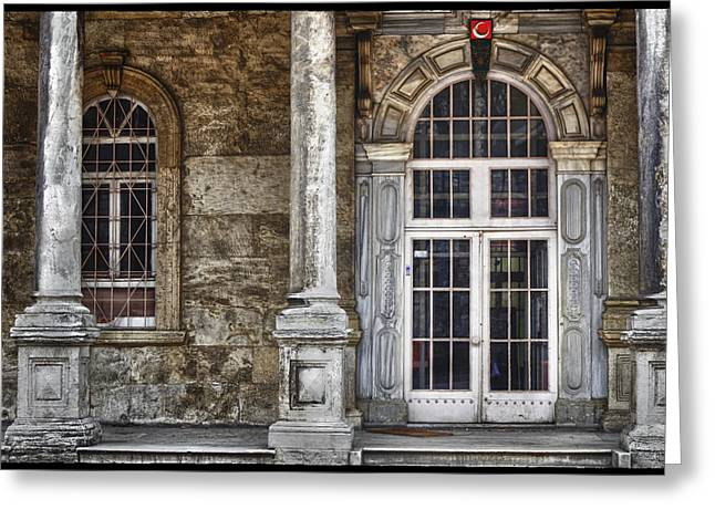 Old Home Place Greeting Cards - On the side of the road Greeting Card by Joan Carroll