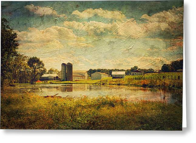 Mccormicks Farm Greeting Cards - On The Trail Greeting Card by Kathy Jennings