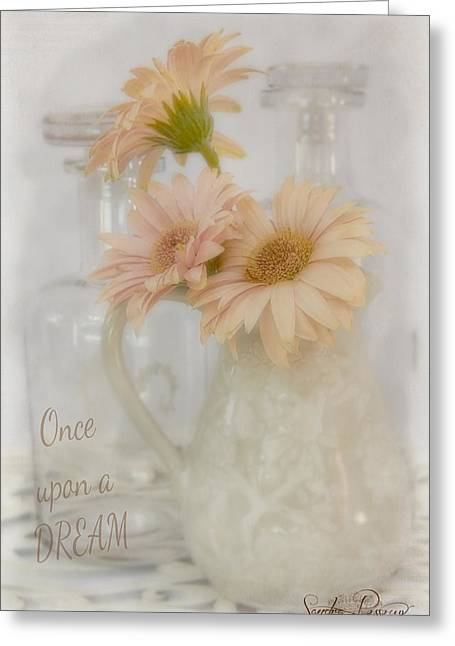 Kim Klassen Texture Greeting Cards - Once Upon a Dream  Greeting Card by Sandra Rossouw