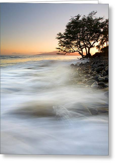; Maui Greeting Cards - One against the Tides Greeting Card by Mike  Dawson