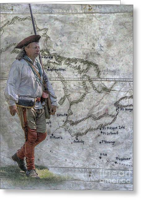 Rogers Rangers Greeting Cards - One Hundred Miles to Fort Pitt Greeting Card by Randy Steele