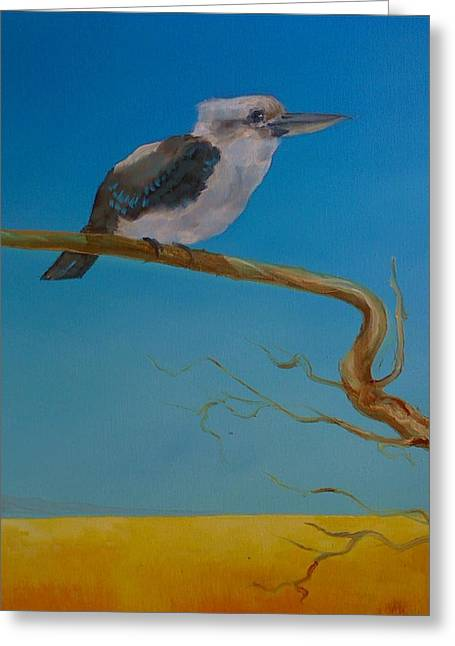 Paul Morgan Greeting Cards - One in the bush Greeting Card by Paul Morgan