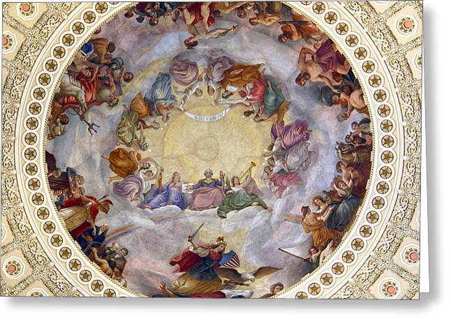 United States Capitol Greeting Cards - One of the Few Greeting Card by Mitch Cat