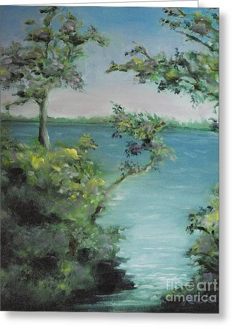 Charlotte Paintings Greeting Cards - One Particular Harbor Greeting Card by Charles Peck