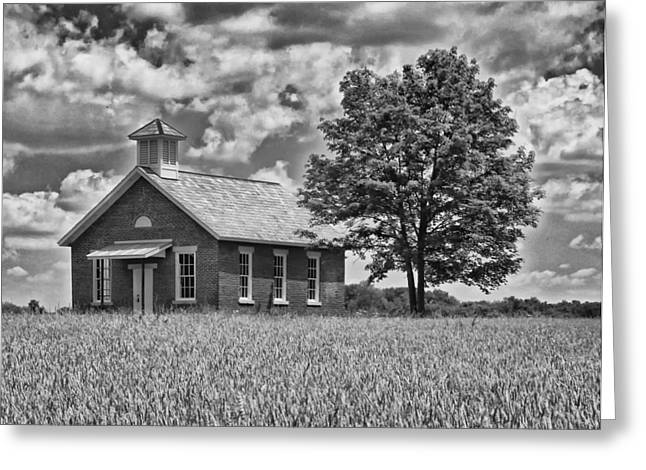 One Room Schoolhouse Greeting Cards - One Room Schoolhouse Greeting Card by Brian Mollenkopf