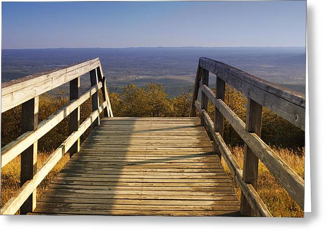 Arkansas Greeting Cards - One Small Step For Man Greeting Card by Ricky Barnard
