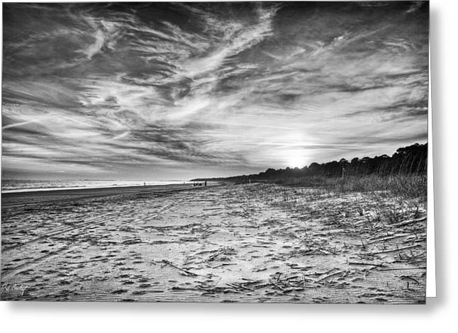 Beach Photograph Digital Art Greeting Cards - Only A Few Left  Greeting Card by Phill  Doherty