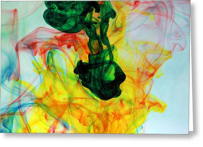 Reminiscent Greeting Cards - Ooh The Colors Man The Colors Greeting Card by Michael Ledray