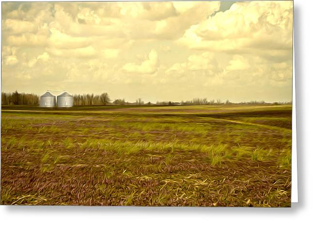 Owensboro Greeting Cards - Open Spaces Greeting Card by Jennifer Burden