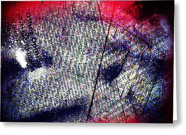 Haunted House Greeting Card Greeting Cards - Opinion Of Stain Greeting Card by Jerry Cordeiro