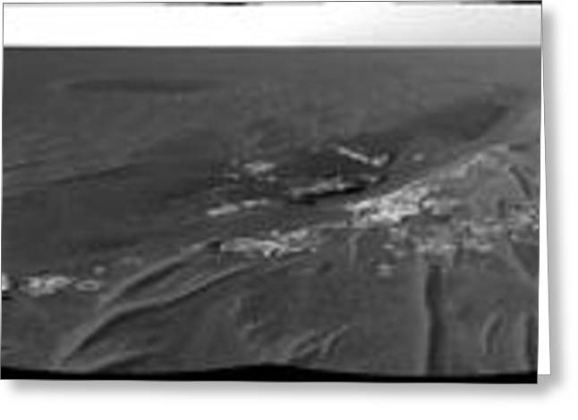 Opportunity Rover On Mars Greeting Card by NASA / JPL-Caltech / Cornell Univserity