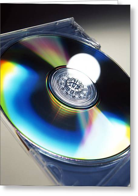 Versatile Greeting Cards - Optical Disc Greeting Card by Tek Image