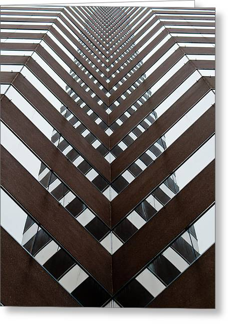 Optical Illusion Greeting Card by Keith Allen