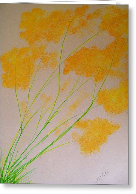Spring Pastels Greeting Cards - Orange Greeting Card by Tom Nettles