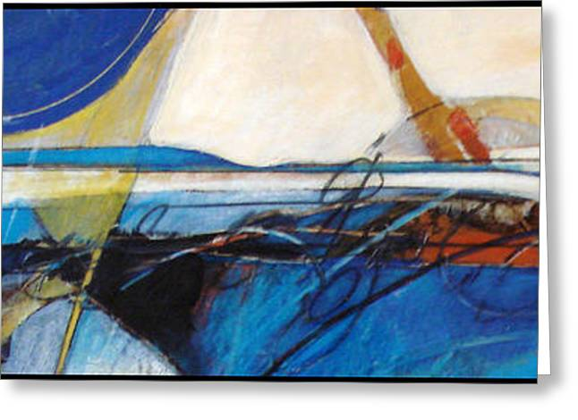 Abstract Beach Landscape Greeting Cards - Oregon coast Greeting Card by Dale  Witherow