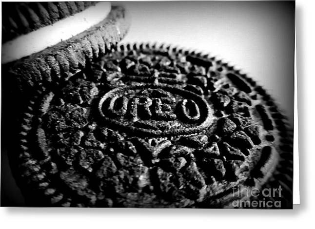 Oreo Photographs Greeting Cards - Oreo Cookies Greeting Card by Maria Scarfone