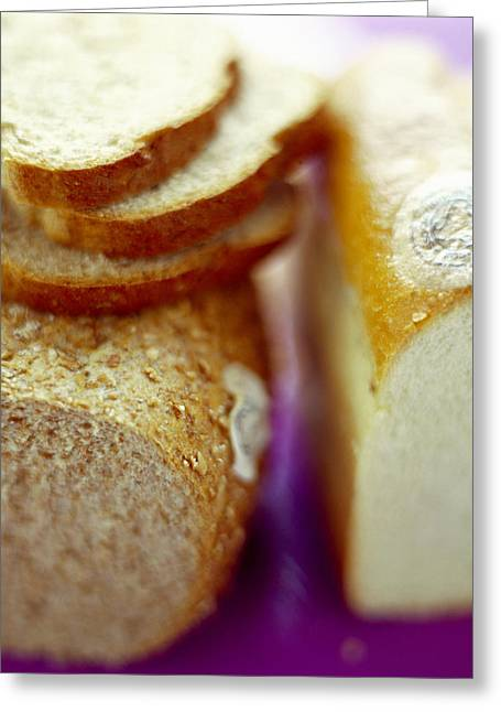 Bread Loaf Greeting Cards - Organic Bread Greeting Card by David Munns