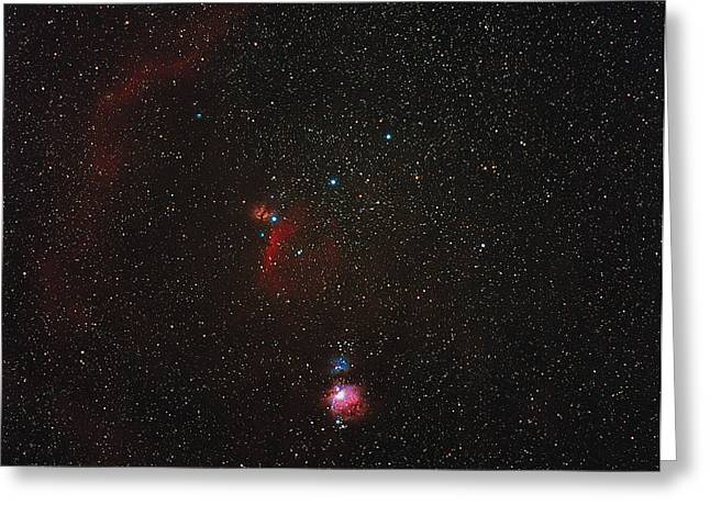 Orionis Greeting Cards - Orion Constellation Greeting Card by Eckhard Slawik