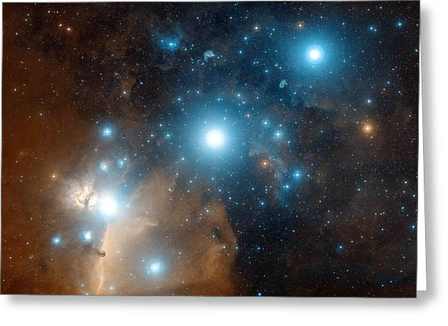 Orionis Greeting Cards - Orions Belt Greeting Card by Davide De Martin