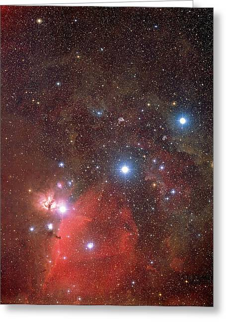Orionis Greeting Cards - Orions Belt Greeting Card by Mpia-hd, Birkle, Slawik