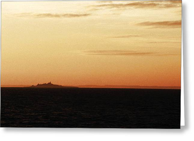 Kattegat Greeting Cards - Ornoe at Sunset Greeting Card by Jan Faul