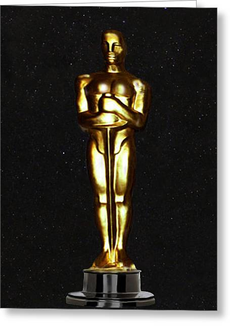 Theatre World Award Greeting Cards - Oscars  Greeting Card by Eric Kempson
