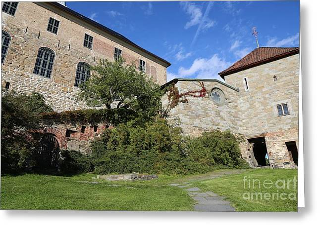 Oslo Castle - Akershus Greeting Card by Carol Groenen