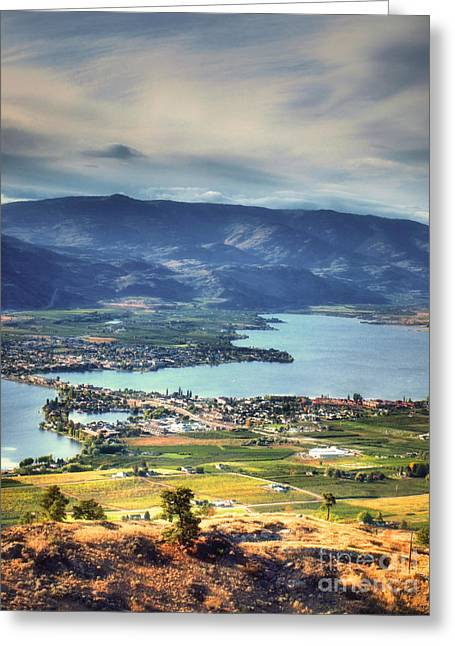 Tara Turner Greeting Cards - Osoyoos Lake 2 Greeting Card by Tara Turner