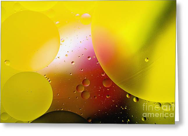 Buoyancy Greeting Cards - Other Worlds - D007924 Greeting Card by Daniel Dempster