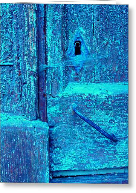 France Doors Greeting Cards - Oubliette Greeting Card by Danny Van den Groenendael