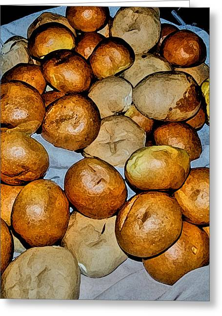 Still Life Photographs Greeting Cards - Our Daily Bread Greeting Card by William Jones