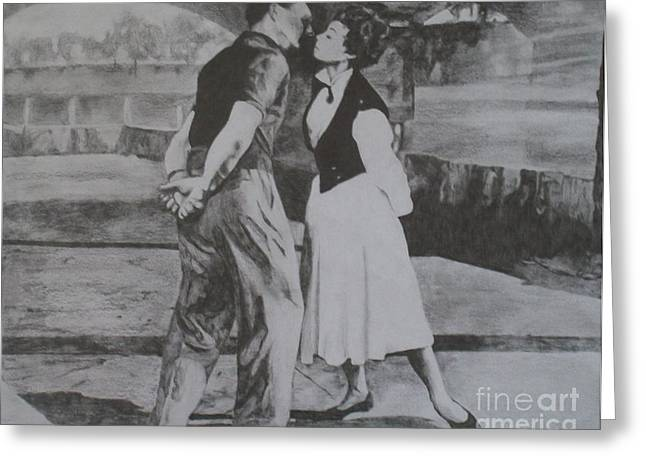 Gershwin Greeting Cards - Our love is here to stay. Greeting Card by Kevin Hopkins