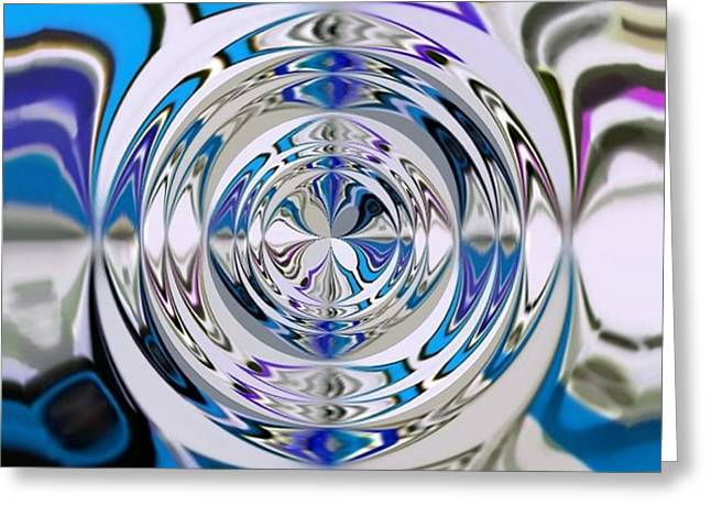 out of the blue 2 Greeting Card by Katina Cote