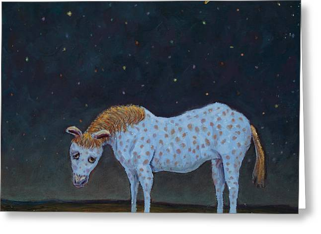 Out to Pasture Greeting Card by James W Johnson