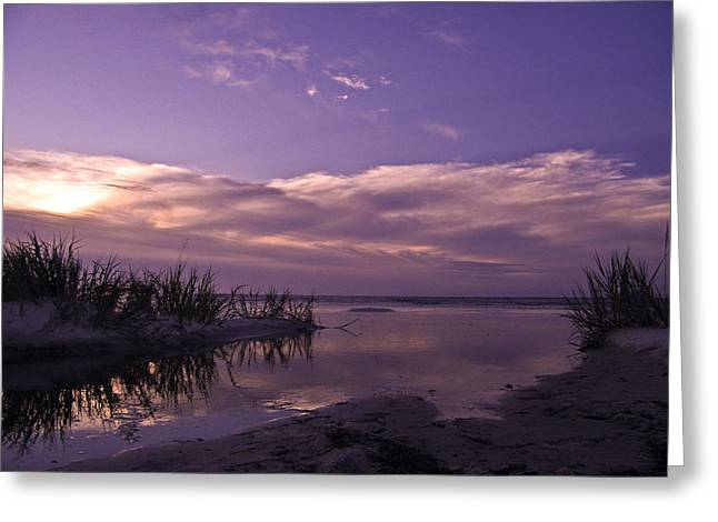 Out To Sea Greeting Card by Brian Wright