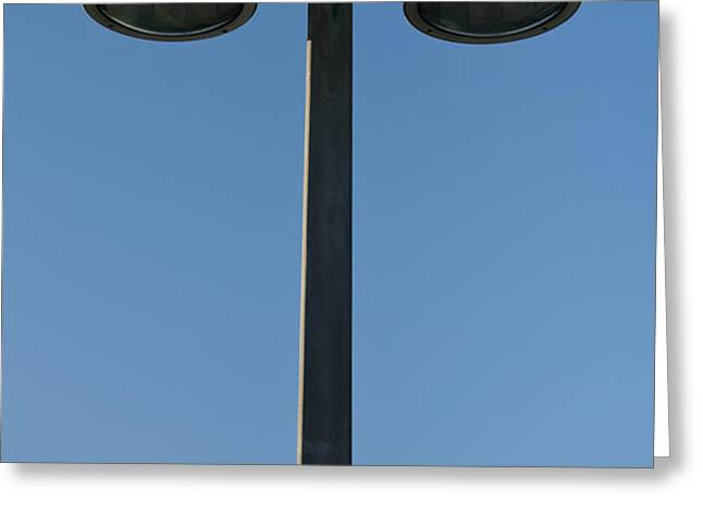 Outdoor lamp post Greeting Card by Blink Images