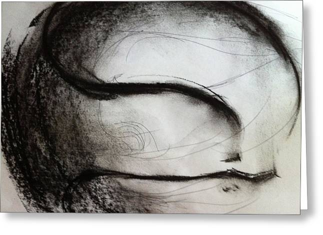 Ink Drawing Greeting Cards - Over Come Greeting Card by Mark M  Mellon