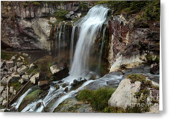 Newberry Greeting Cards - Over The Edge Greeting Card by Adam Jewell